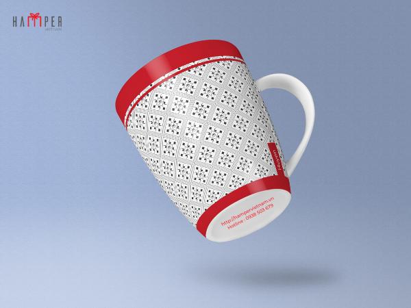 Thiết kế ly sứ in logo: Ý tưởng quà tặng độc đáo cho khách hàng