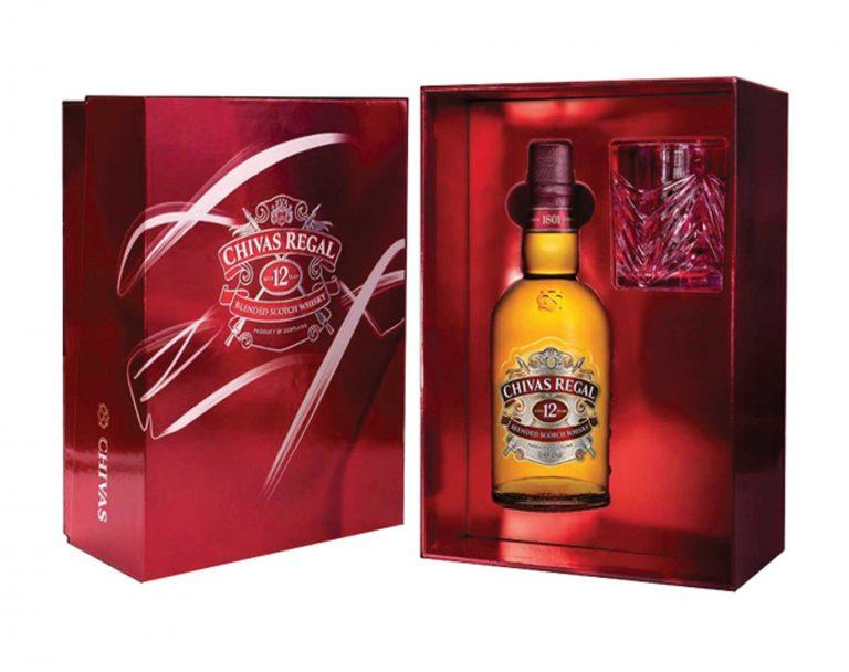 Rượu vang CHIVAS REGAL 12 năm cao cấp nhập khẩu