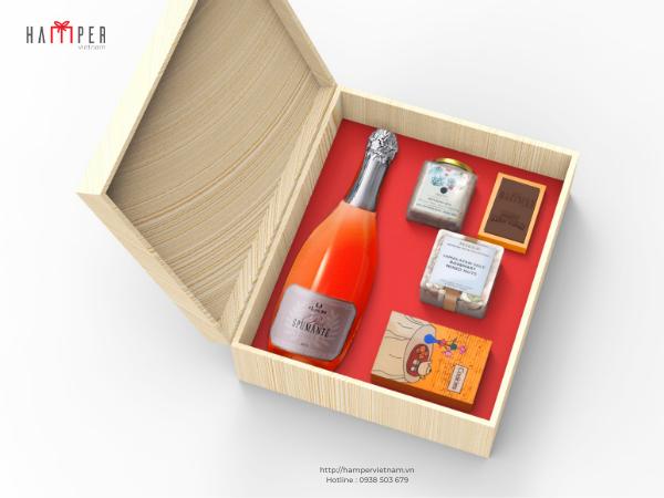 Set quà rượu ngoại của Hamper