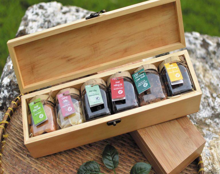 Set quà Tết dành cho những người thích hương vị ngọt ngào của mứt dẻo sấy khô