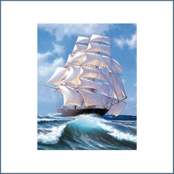 Tranh sơn dầu phong thủy được khá nhiều doanh nghiệp lựa chọn làm quà biếu tặng đối tác