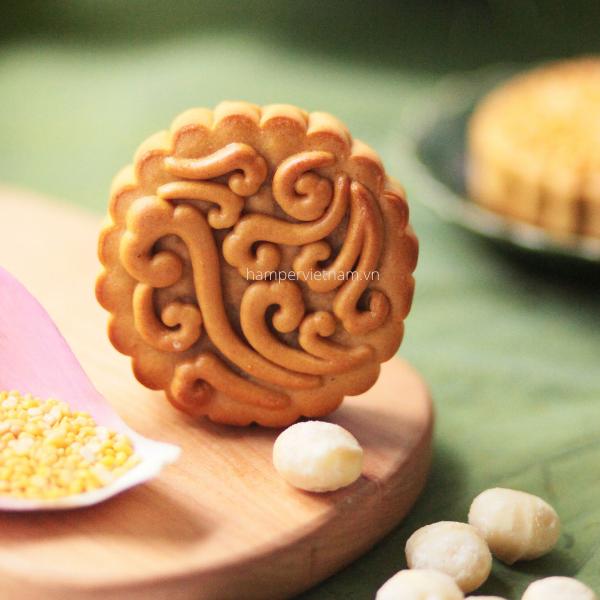 Nhân bánh trung thu Macca tạo nên hương vị mới lạ, độc đáo