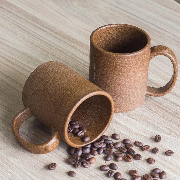 Ly cà phê được làm từ bã cà phê có thể sử dụng lâu dài và đặc biệt an toàn khi đựng mọi loại thức uống.