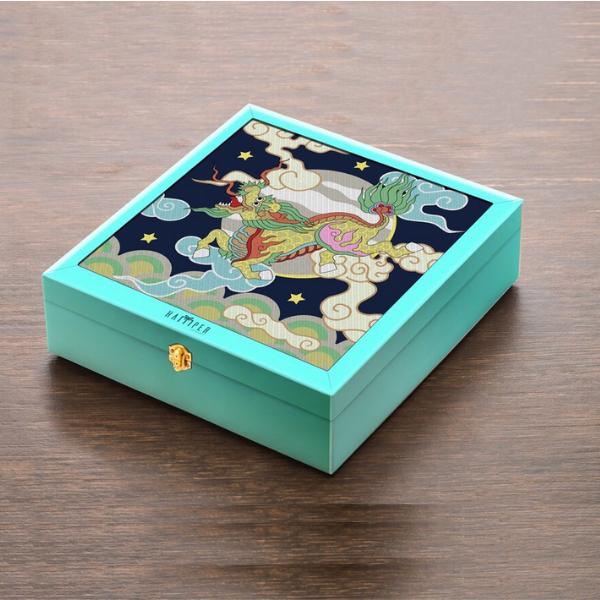 Set bánh trung thu Lân Vàng Phú Quý phù hợp để biếu tặng khách hàng, đối tác quan trọng