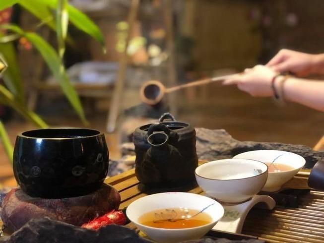 Khi pha trà Zen Relaxing, bạn cần đảm bảo cân bằng giữa nhiệt độ của bình và nước trà